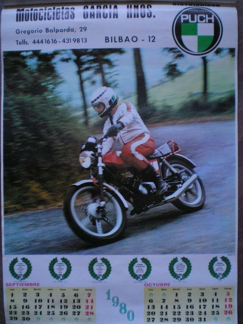 Calendario Puch 1980 0610