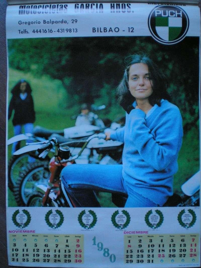 Calendario Puch 1980 0710