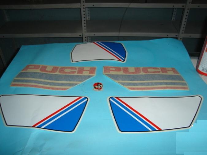 Puch Condor MD 85 - Adhesivos Depósito 8452510