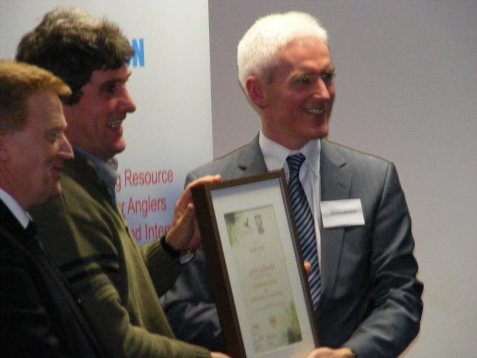 ANGLING COUNCIL IRELAND awards Dublin Dscf1717