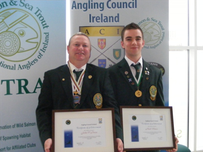 ANGLING COUNCIL IRELAND awards Dublin Dscf1813