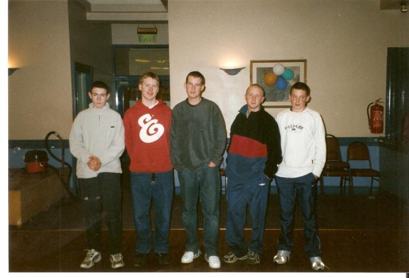 IRELAND u16 team 2002 Munste11