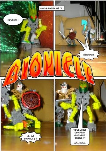 [Fan-Art] Mon projet de BD bionicle (onua power) Ljk11
