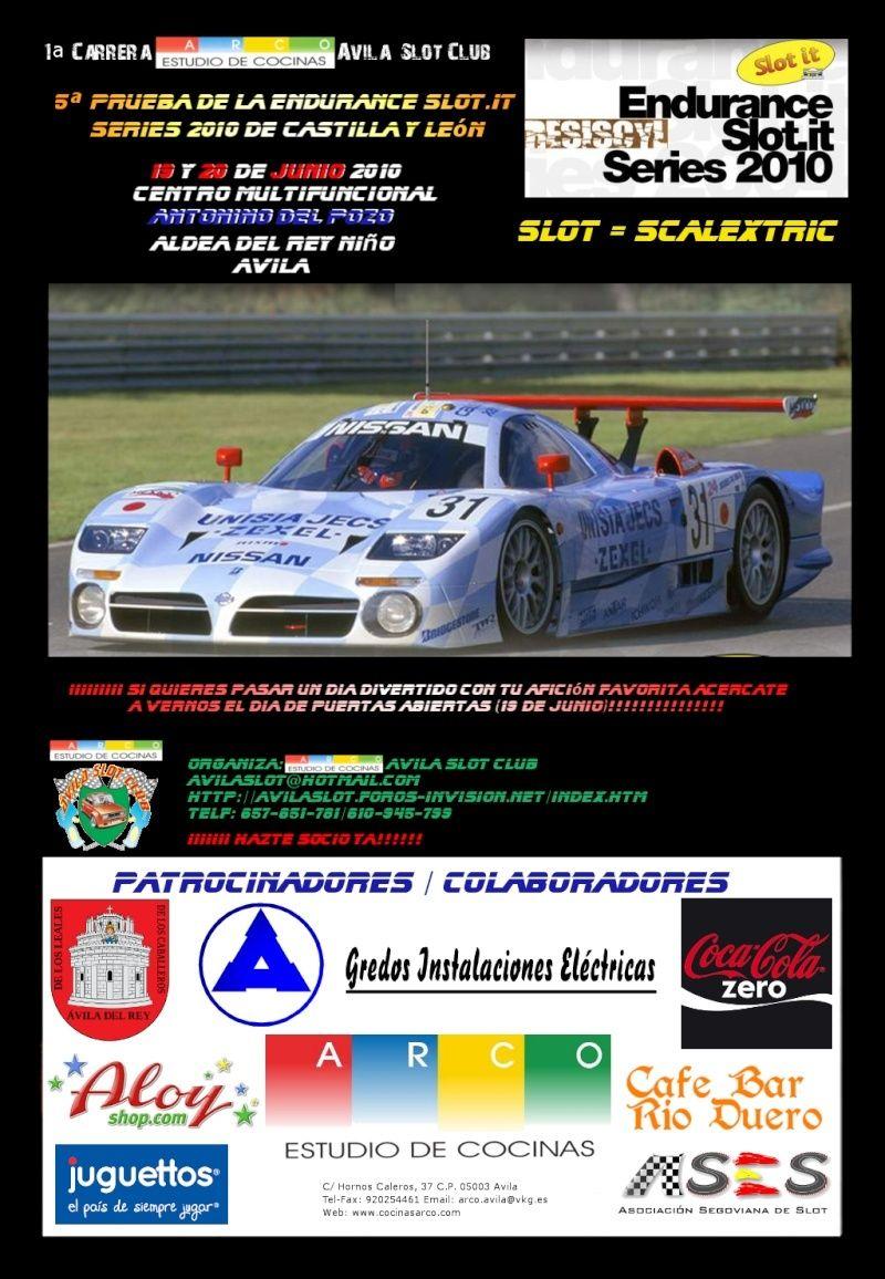 ResisCyl Endurance Series 2010 19-20 de Junio Cartel10