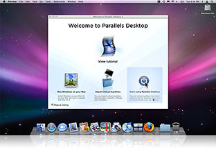 Run Windows on Mac OS X (Ejecutar Windows en Mac OS X) Deskto10