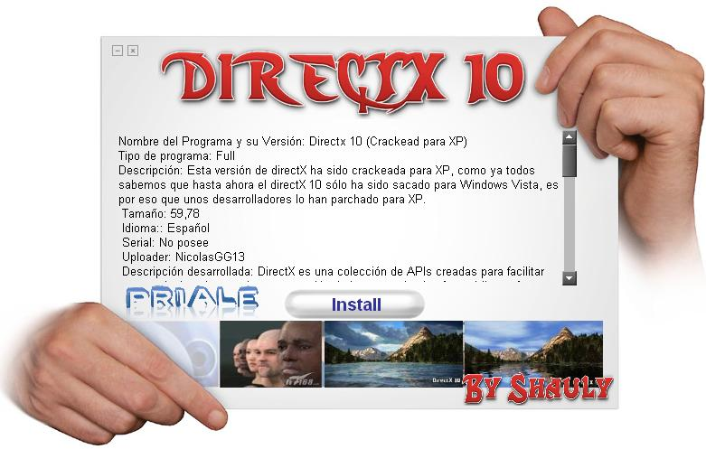 DirectX 11 Para Windows Xp y Vista ! Direc10
