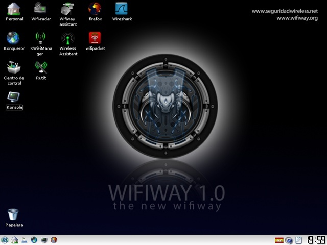 Wifiway 2 final (ISO) Auditar redes wireless Wifiwa10
