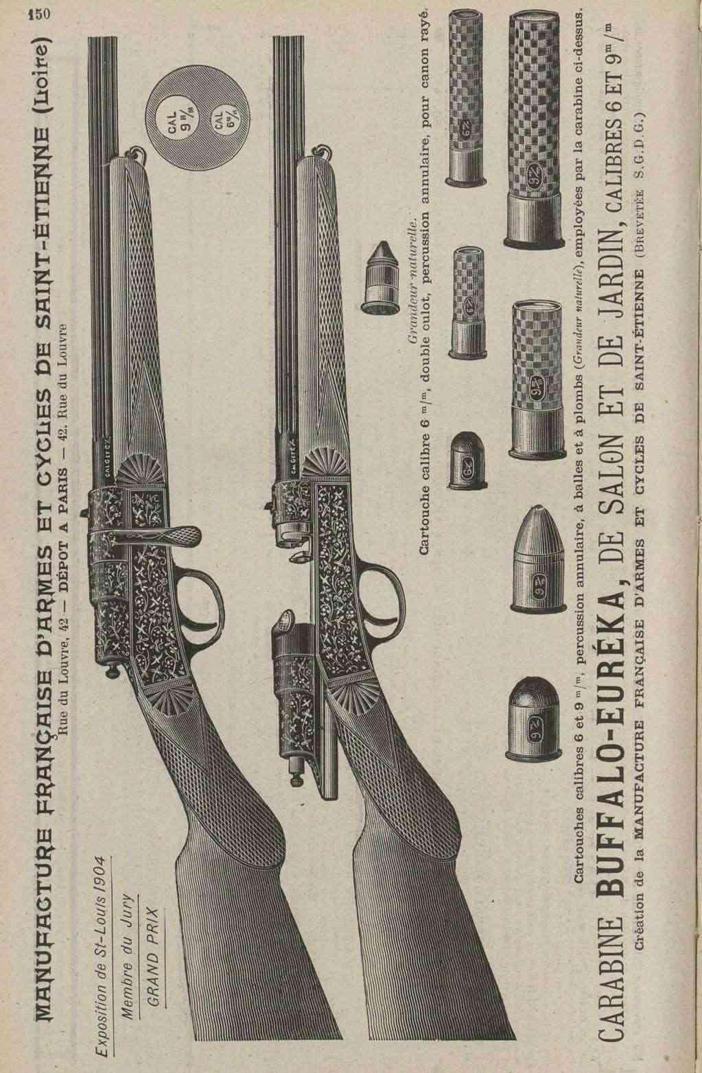 Carabine Buffalo Lebel Buffal12