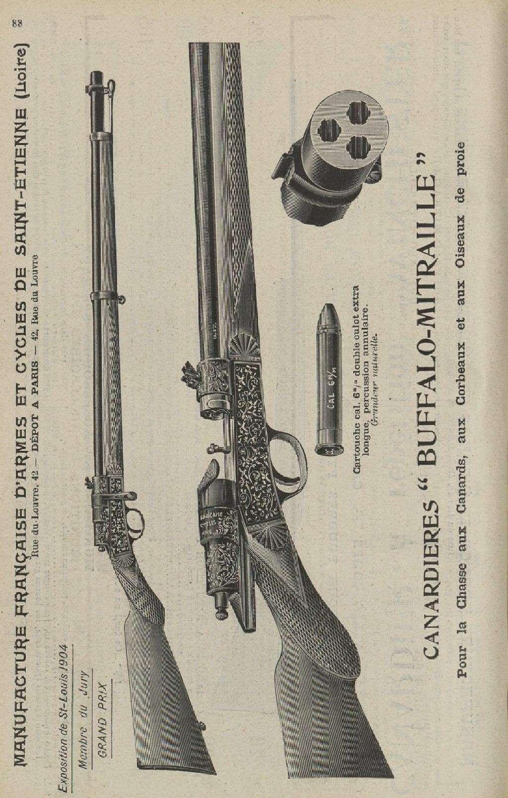 Carabine Buffalo Lebel Buffal13