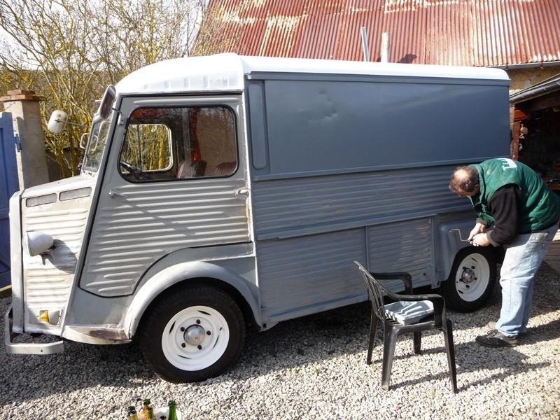 Présentation & Restauration : Transformation d'un type H en camping car moderne ! P1080317