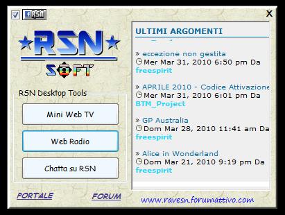 RSN Desktop Utility Rsndtp10