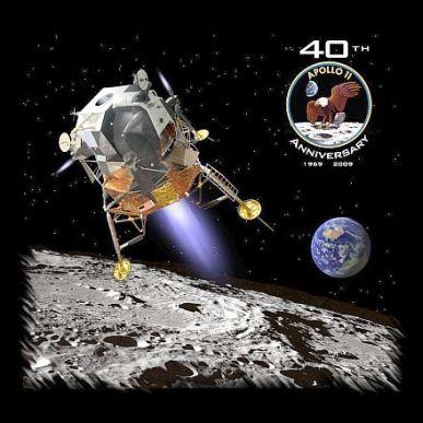 40 ans d'Apollo 11 : commande de tee-shirt groupée ? Spaces11