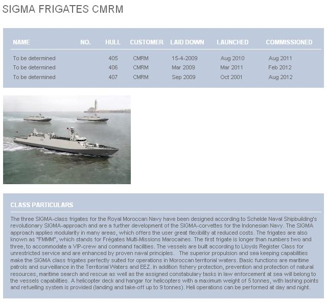 Sigma Marocaines / Royal Moroccan Navy Sigma Class Frigates - Page 3 Fmmm110
