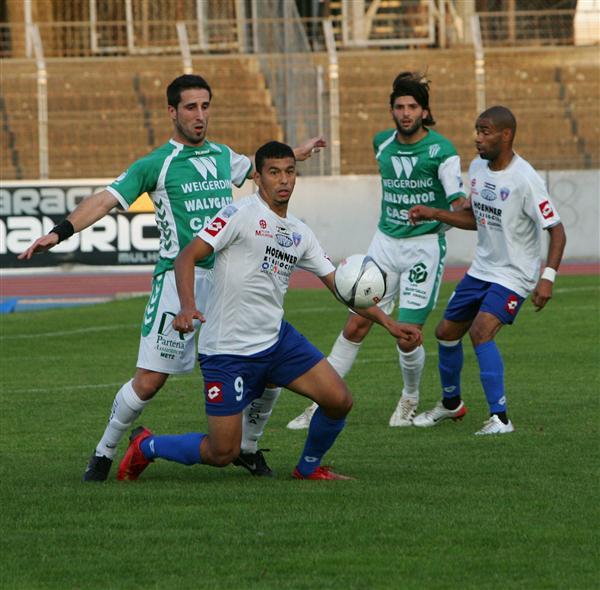 [CFA] 26ème journée Amnéville / FC Mulhouse Benkaj15