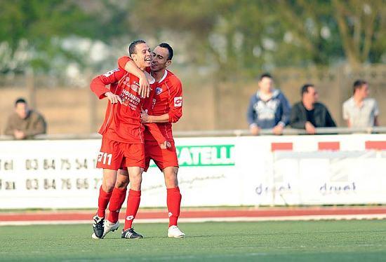 [CFA] 34 ème journée : AS Nancy2 / FC Mulhouse Louhki13