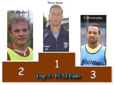 Le Classement du Top3 2008/2009 Podium10