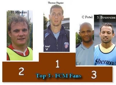 Le Classement du Top3 2008/2009 Podium11