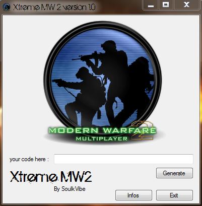 Xtrem MW2 keygen by SoulkVibe Captur10
