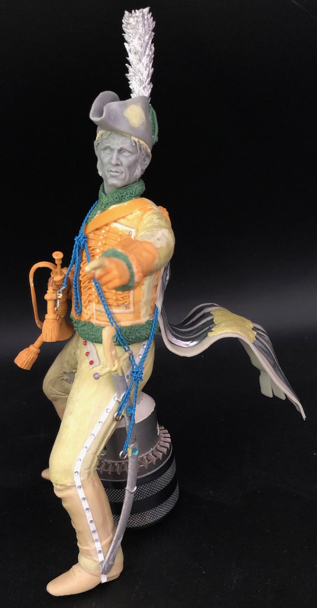 Trompette du Régiment des Dromadaires en 1800 (180 mm) - Page 6 11110