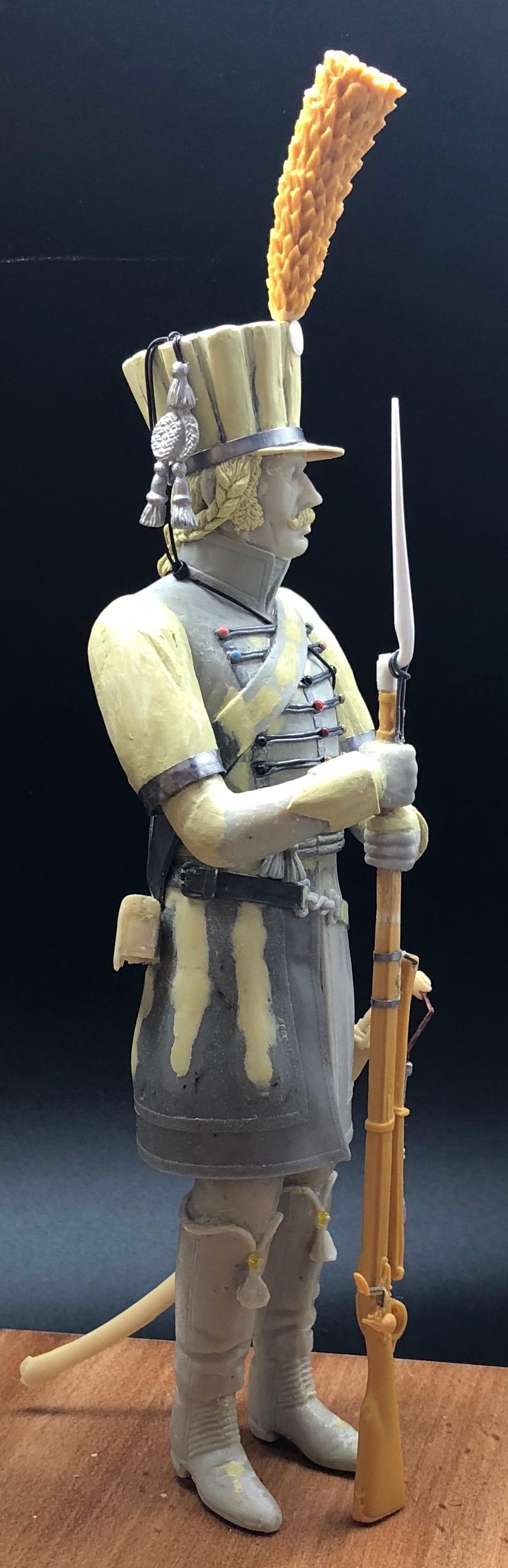 Trompette du Régiment des Dromadaires en 1800 (180 mm) - Page 3 Img_1016