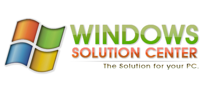 Windows Solutions Center