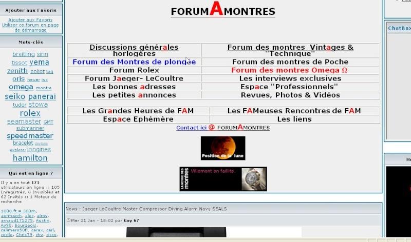 Bienvenue à tous sur le nouveau Forum dédié à ZENITH - Page 3 Screen16