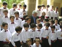 Escolania del Escorial (Espagne) Yuste210