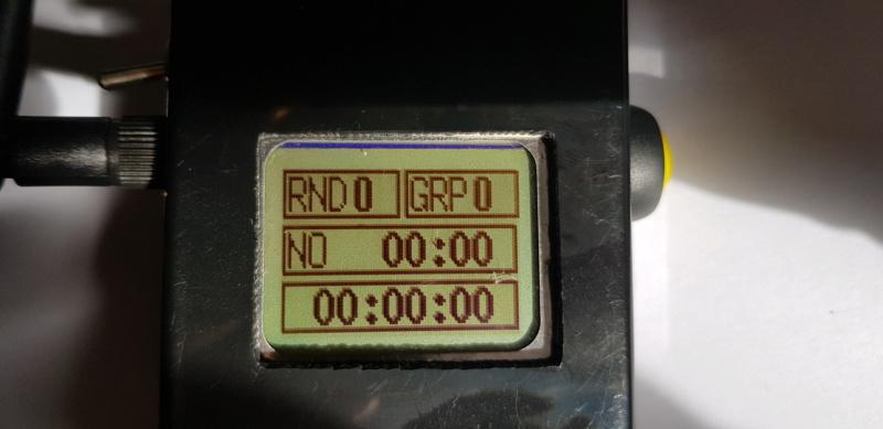 [Arduino] Afficheur et chronomètre portable pour GliderScore 20190414