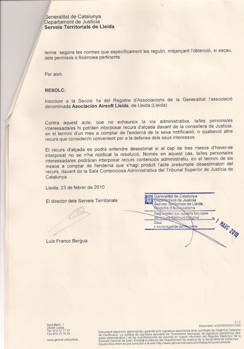 """Presentacion """"ASOCIACION AIRSOFT LLEIDA"""" Escane12"""