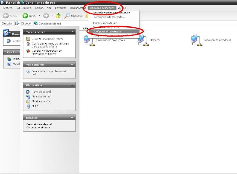 1. Configuracion de windows XP Dibujo17