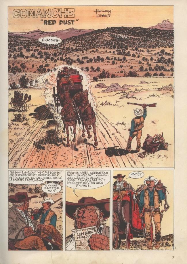 Comanche - Série [Greg & Herman] Planch10