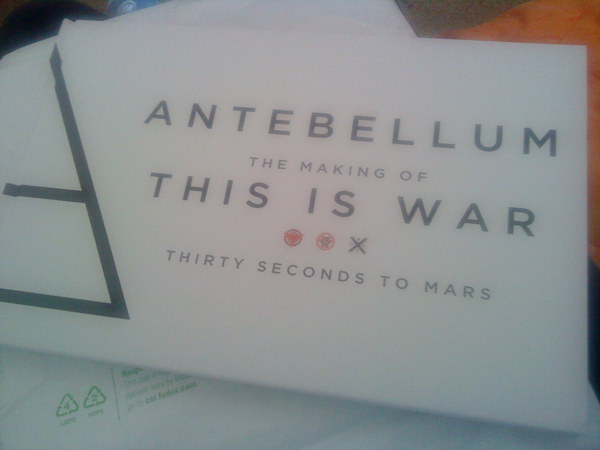 Antebellum Making of This Is War [Book] 10422410