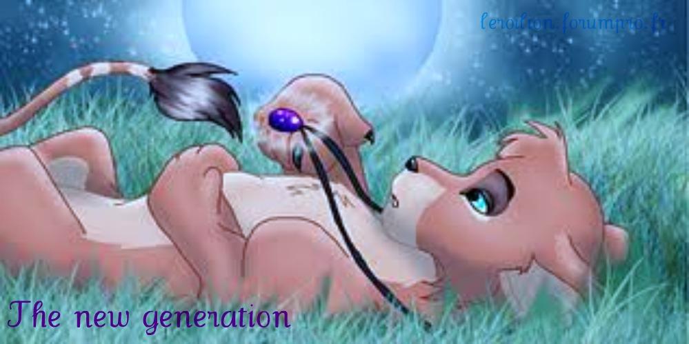 le roi lion :  la nouvelle génération