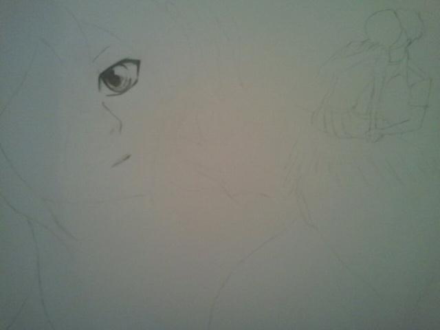 Manga (crayon graphite) 18151810