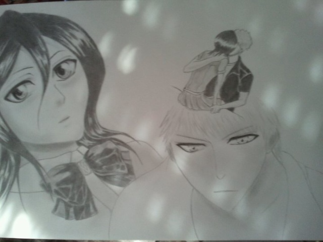 Manga (crayon graphite) 18580310