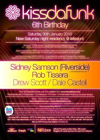 2010.01.30 - SIDNEY SAMSON - KISS DA FUNK 6TH BIRTHDAY @ MISSION (LEEDS, UK) Birthd10