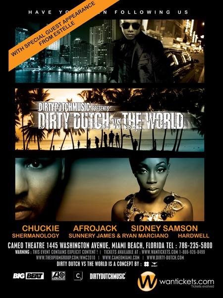2010.03.26 - SIDNEY SAMSON - DIRTY DUTCH VS. THE WORLD @ CAMEO (WMC 2010 MIAMI) Eflyer10