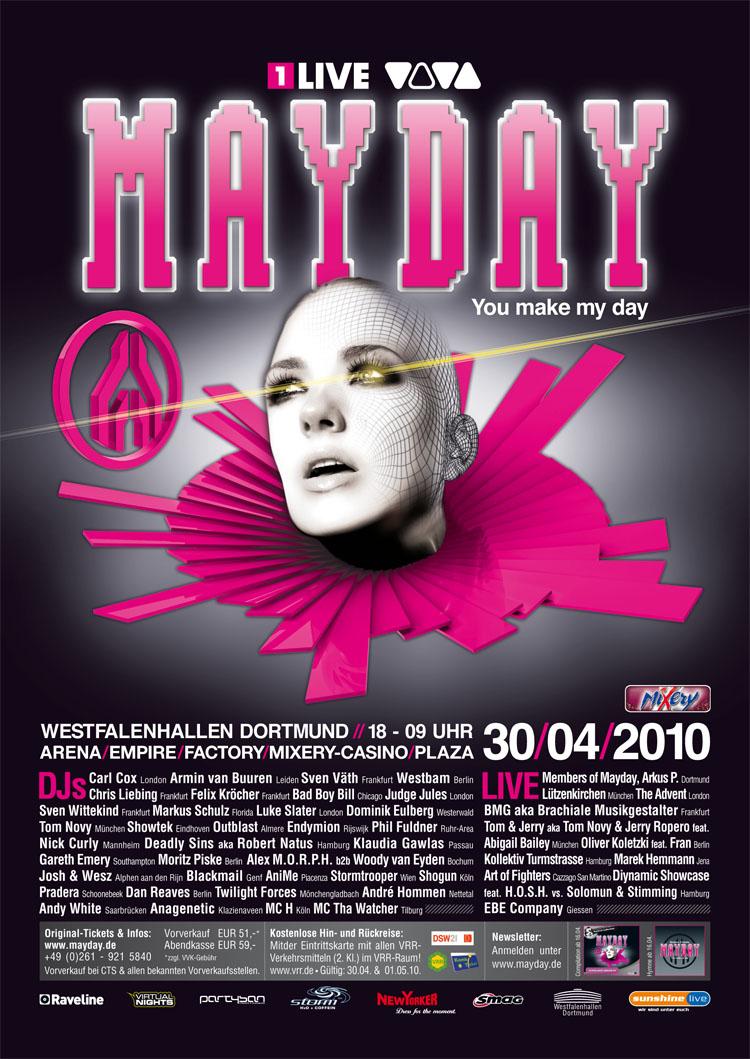 2010.04.30 - BAD BOY BILL @ MAYDAY DORTMUND 2010 (GERMANY) Mayday12