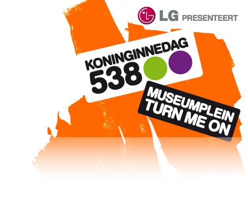 2010.04.30 - SIDNEY SAMSON @ KONINGINNEDAG 2010 (MUSEUMPLEIN, AMSTERDAM, NETHERLANDS) Radio510