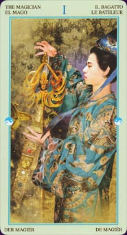Le tarot chinois lo scarabeo China-14