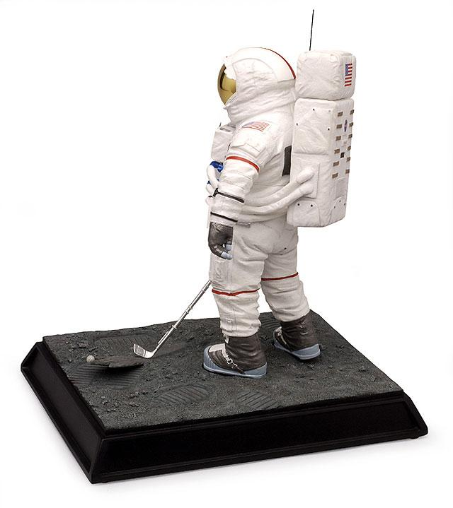 "Figurine Alan Shepard Apollo 14 ""Golf Shot"" 33267011"
