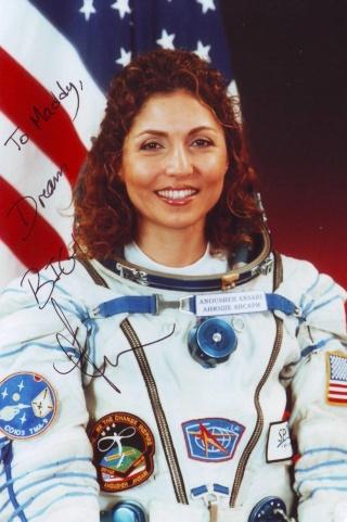 Les 55 voyageuses de l'espace Ansari12