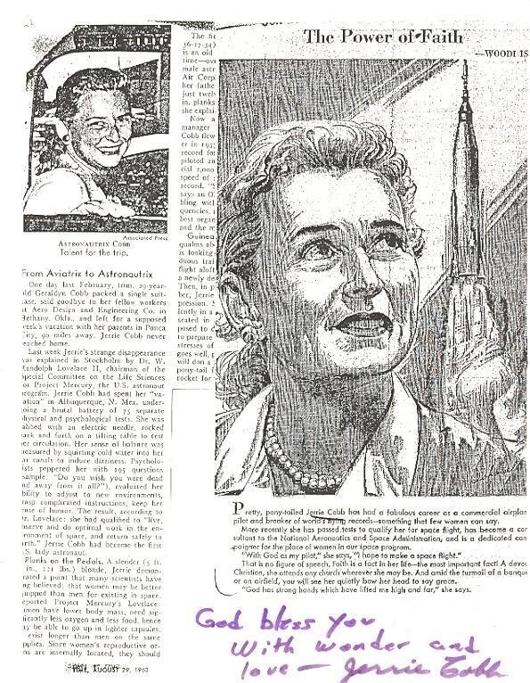 La place des femmes dans l'astronautique - Page 2 Cobb_j10