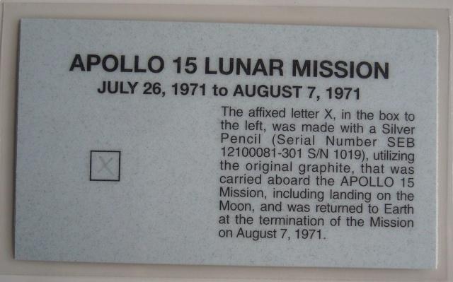 Objets ayant été dans l'espace... Quelques astuces de collection Dscn9511