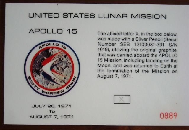 Objets ayant été dans l'espace... Quelques astuces de collection Dscn9512