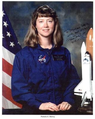 Les 55 voyageuses de l'espace Melroy10