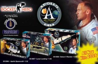 Nouvelles maquettes Revell / Aldrin Rocket Heros Revell10