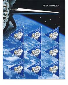 Astrophilatélie : Christer Fuglesang timbrifié S2418710