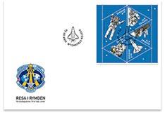 Astrophilatélie : Christer Fuglesang timbrifié S2419410