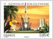 Un timbre pour Soyouz en Guyane - Page 2 Soyouz22